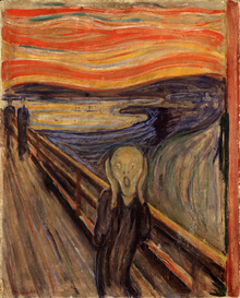 The Scream by Edvard Munch 1893 Nasjonalgalleriet