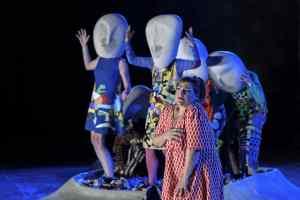 Είδα τη «Λυσιστράτη», σε σκηνοθεσία Οδυσσέα Παπασπηλιόπουλου