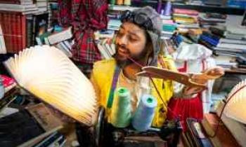 H ομάδα Μικρός Νότος ζωντανεύει για 5 μόνο παραστάσεις τον «Ραφτάκο των λέξεων»