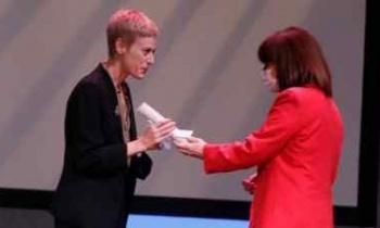 Η Δήμητρα Βλαγκοπούλου είναι η νικήτρια του  βραβείου «Μελίνα Μερκούρη»